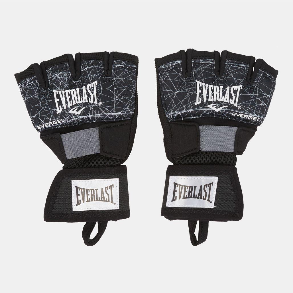 Everlast Printed Evergel Hand Wraps - Black
