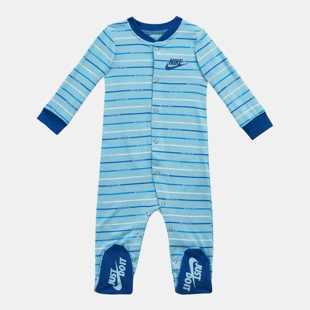 Nike Kids' JDI Script Footed Coverall (Baby and Toddler)