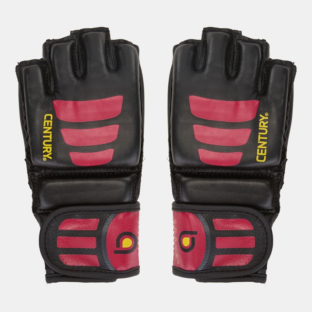 Century Brave Open Palm Gloves - Black