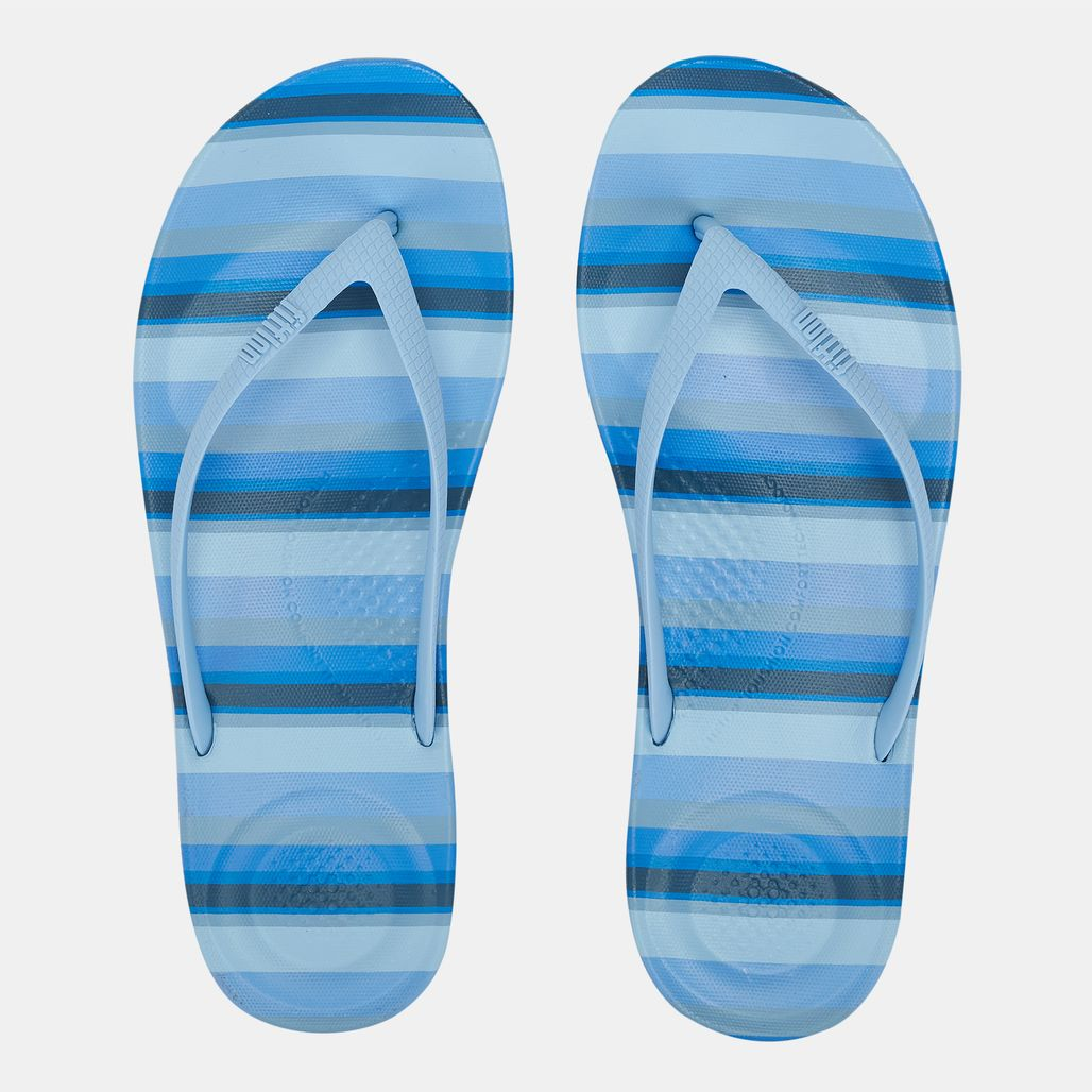 FitFlop iQushion Ergonomic Flip Flops (Stripey)