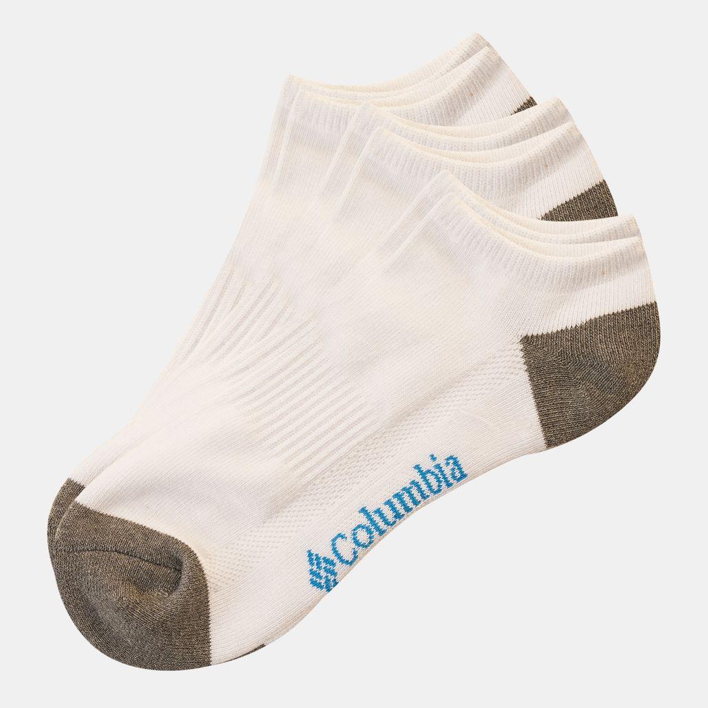 Columbia Men's No-Show Socks - White