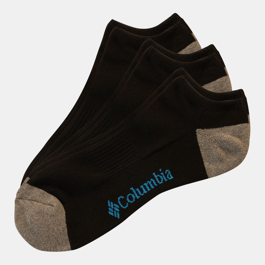 Columbia Men's No-Show Socks - Black