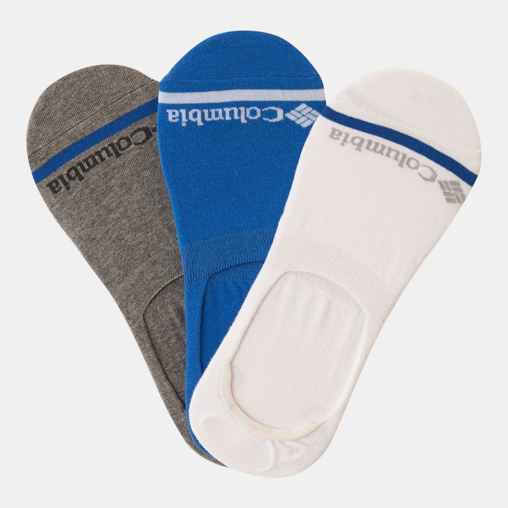 Columbia Men's Basic Liner Socks - Blue