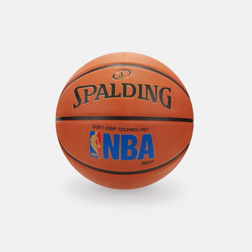كرة السلة لوجومان سوفت جريب للملاعب الخارجية من سبولدينج - برتقالي