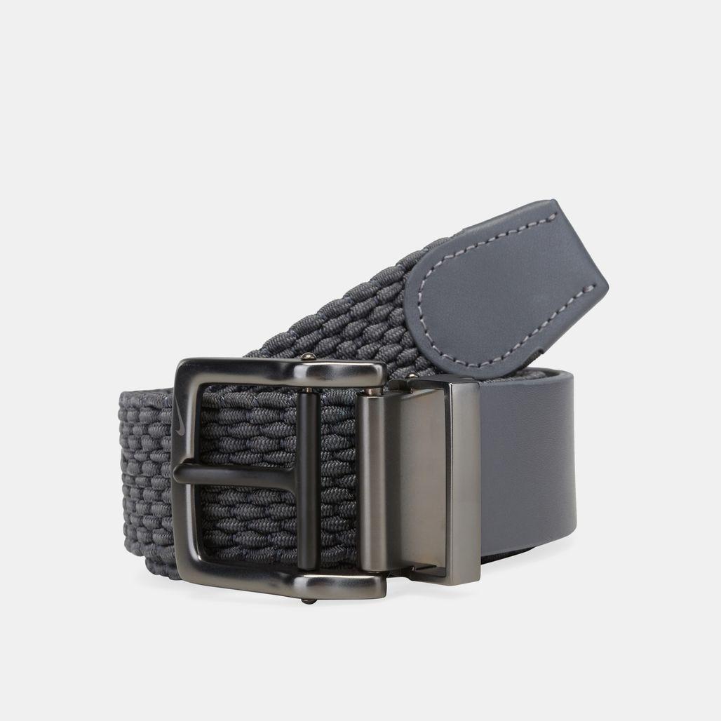 Nike Golf Stretch Woven Belt - Grey