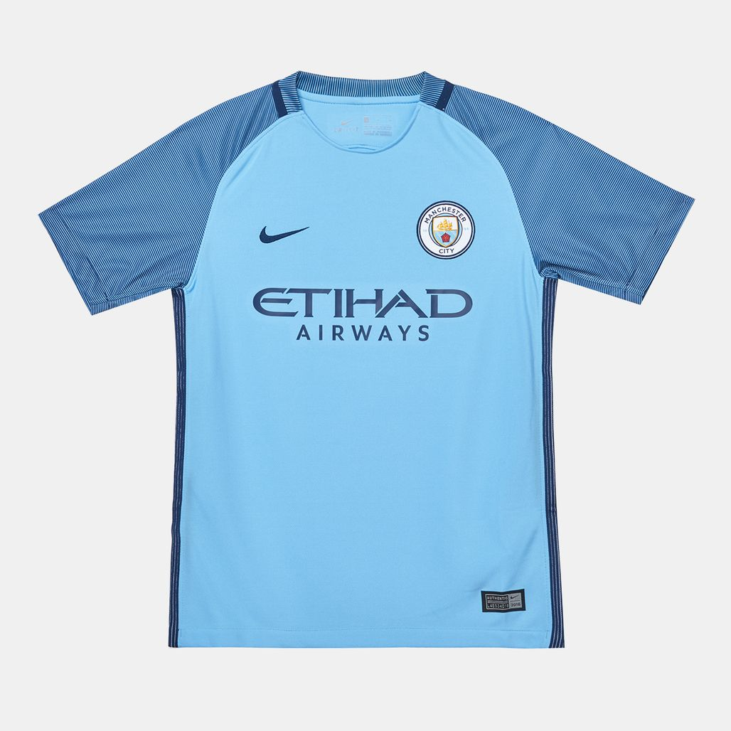تسوق قميص جيرسي فريق مانشستر سيتي إف سي الأساسي من نايكي ...