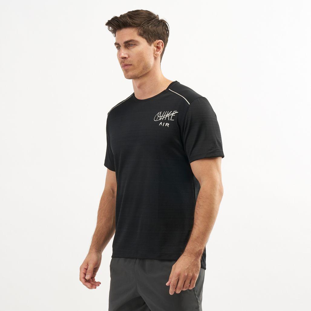 Nike Men's Dri-FIT Miler Graphic Running T-Shirt