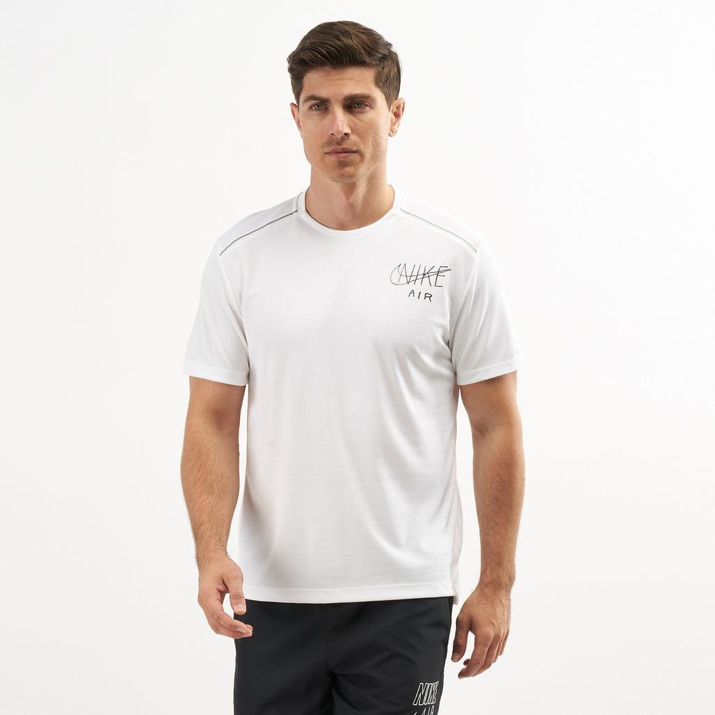 Nike Men's Dri-FIT Miler Graphic Running T-Shirt