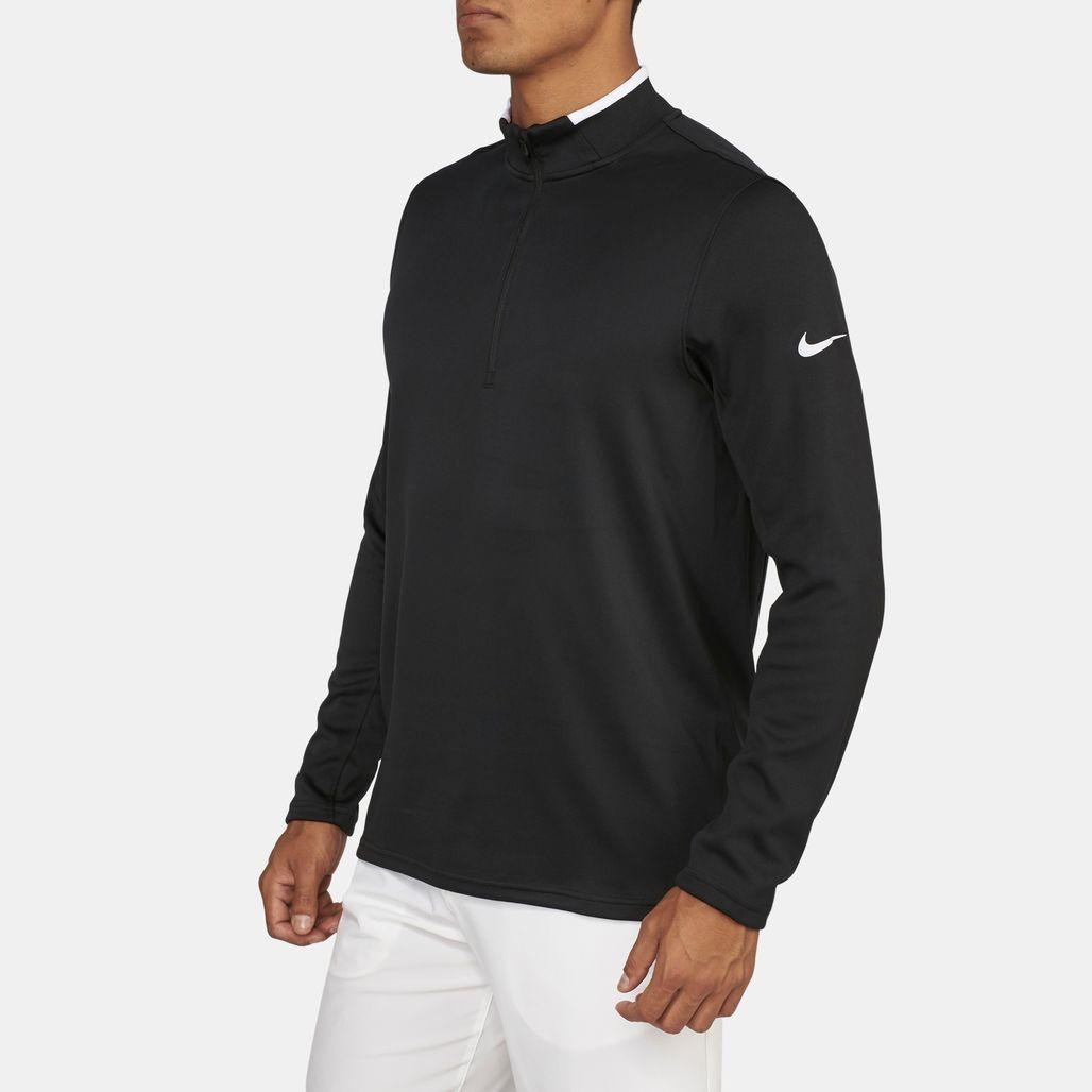 Nike Golf Dri-FIT Knit Half-Zip Long Sleeve T-Shirt