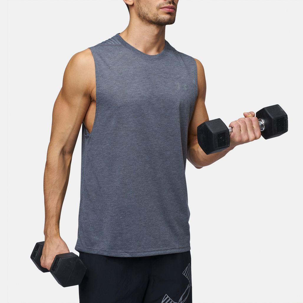 Under Armour Siro Muscle Tank Top - Grey