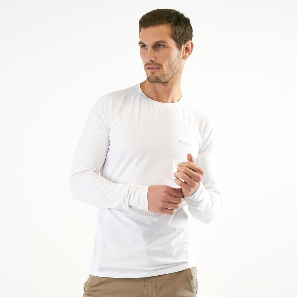 Columbia Men's Midweight Stretch Long Sleeve T-Shirt
