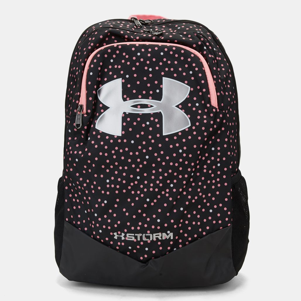 cd2517bea3 Shop Black Under Armour Kids  Storm Scrimmage Backpack for Kids by ...