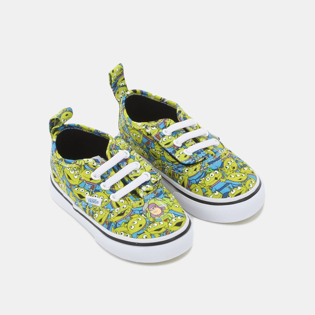 5fefc49cd3 Shop Yellow Vans Authentic V Lace Shoe - Toy Story Edition for Kids ...
