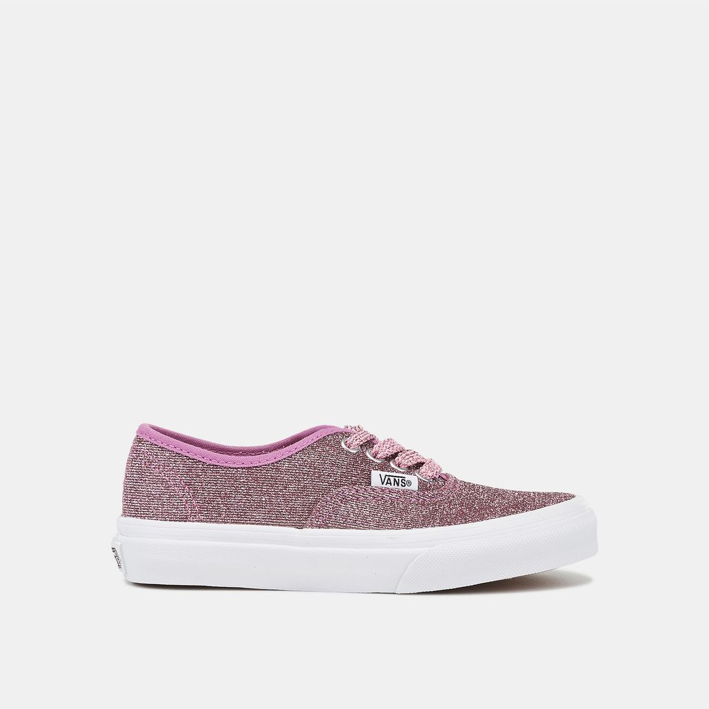 Vans Kids' Lurex Glitter Authentic Shoe