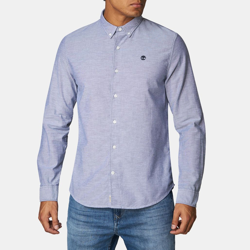Timberland® Rattle River Oxford Long-Sleeved Slim Shirt