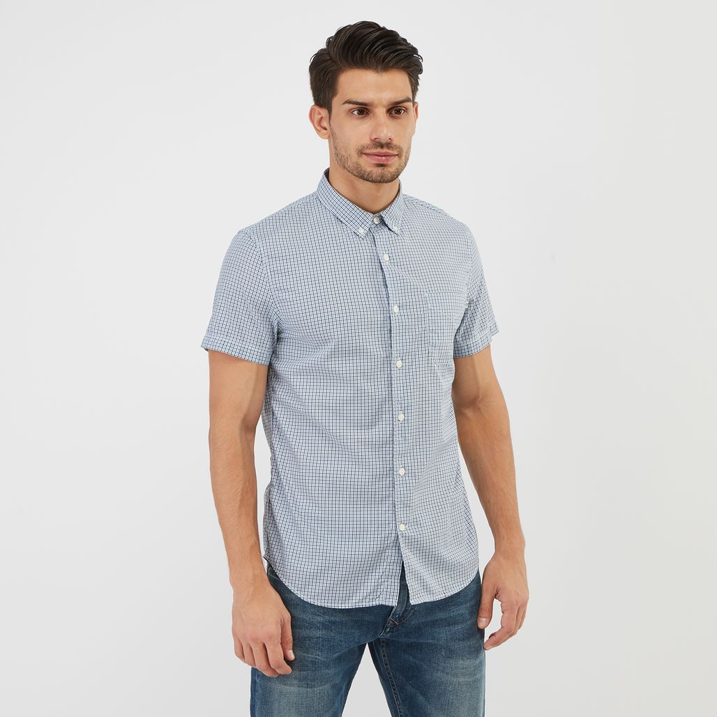Timberland Suncook River Slim-Fit Gingham Shirt
