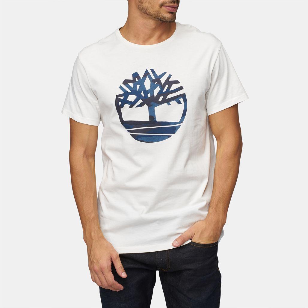 Timberland Dunstan River Camo Print T-Shirt