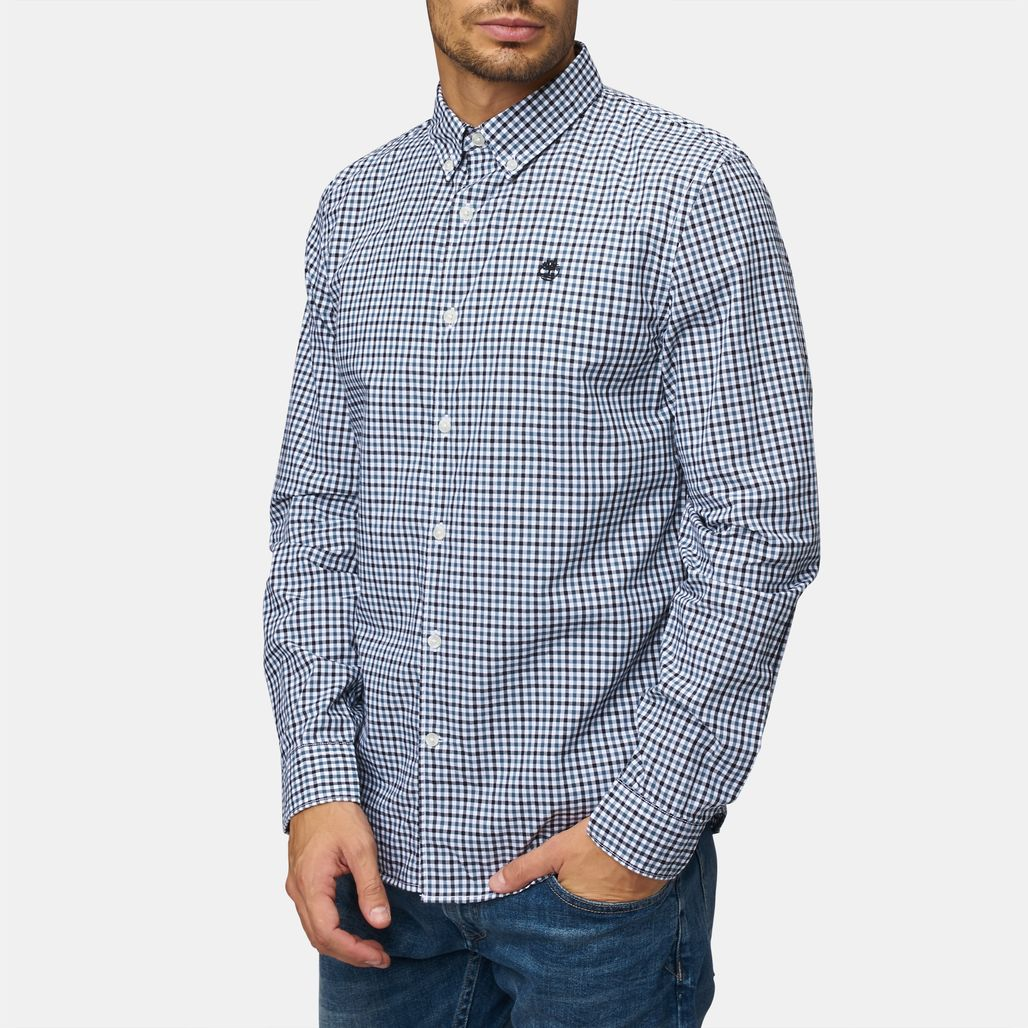 Timberland® Suncook River Slim Fit Gingham Shirt