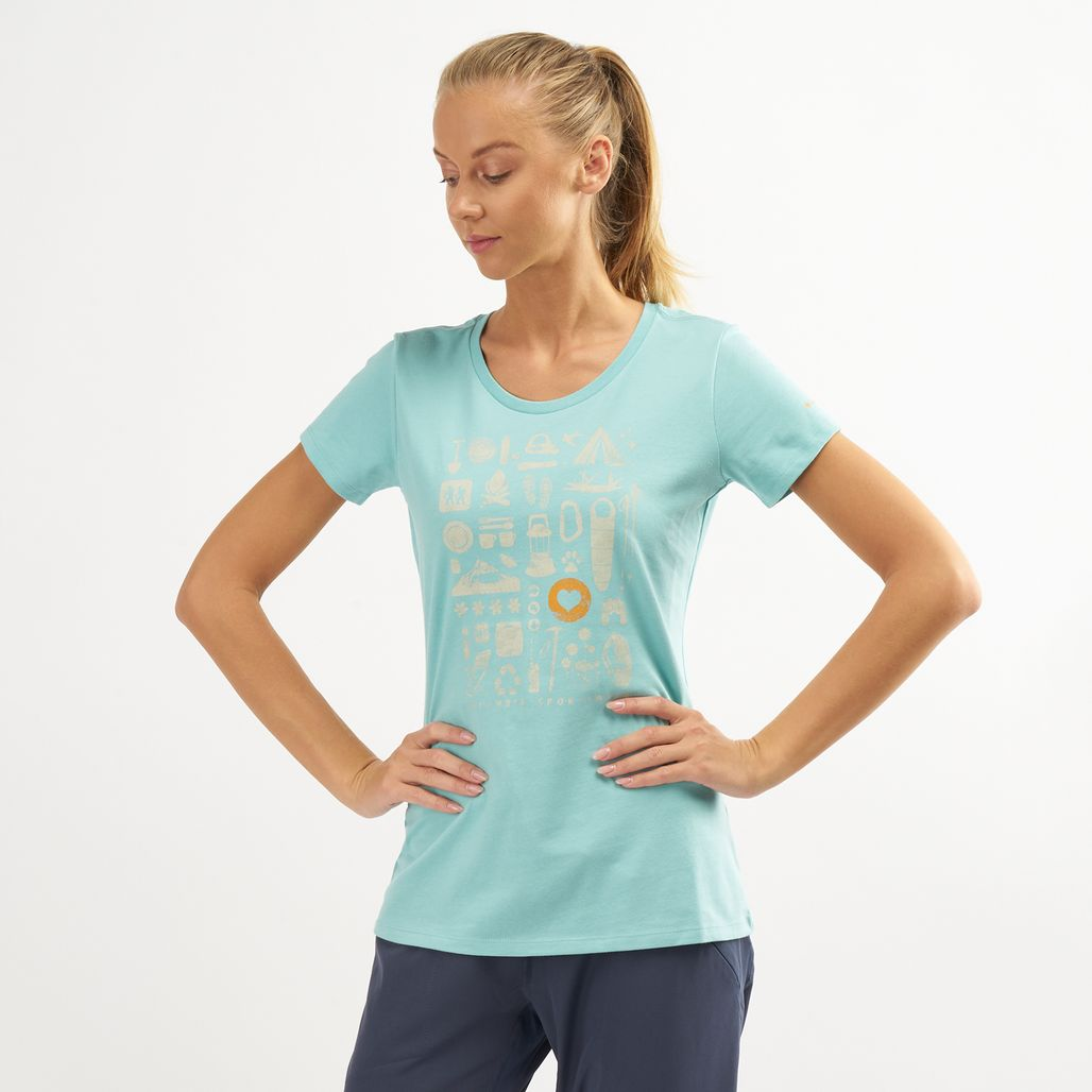 Columbia Women's Camp Stamp™ Performance T-Shirt