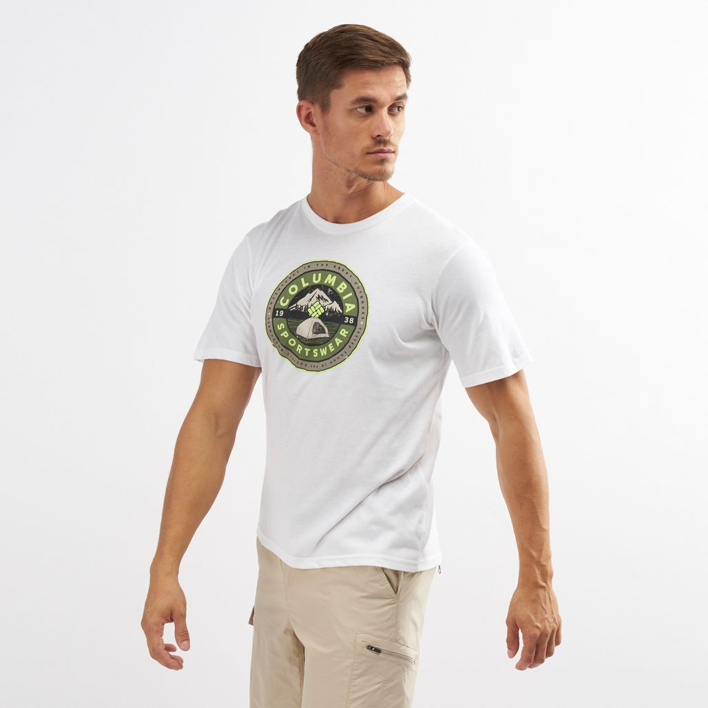 Columbia Men's Brightwoods Basin™ Short Sleeve T-Shirt