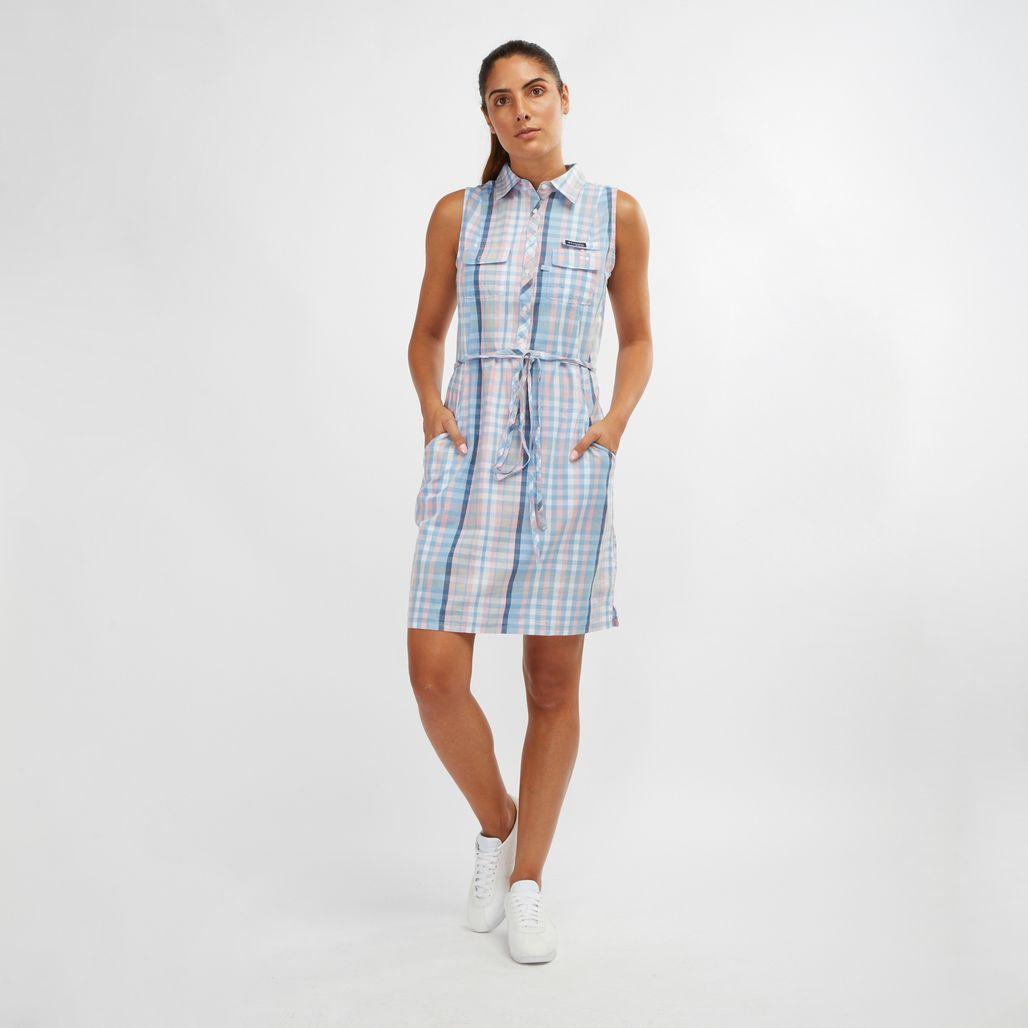 فستان سوبر بونهيد 2 بلا أكمام من كولومبيا