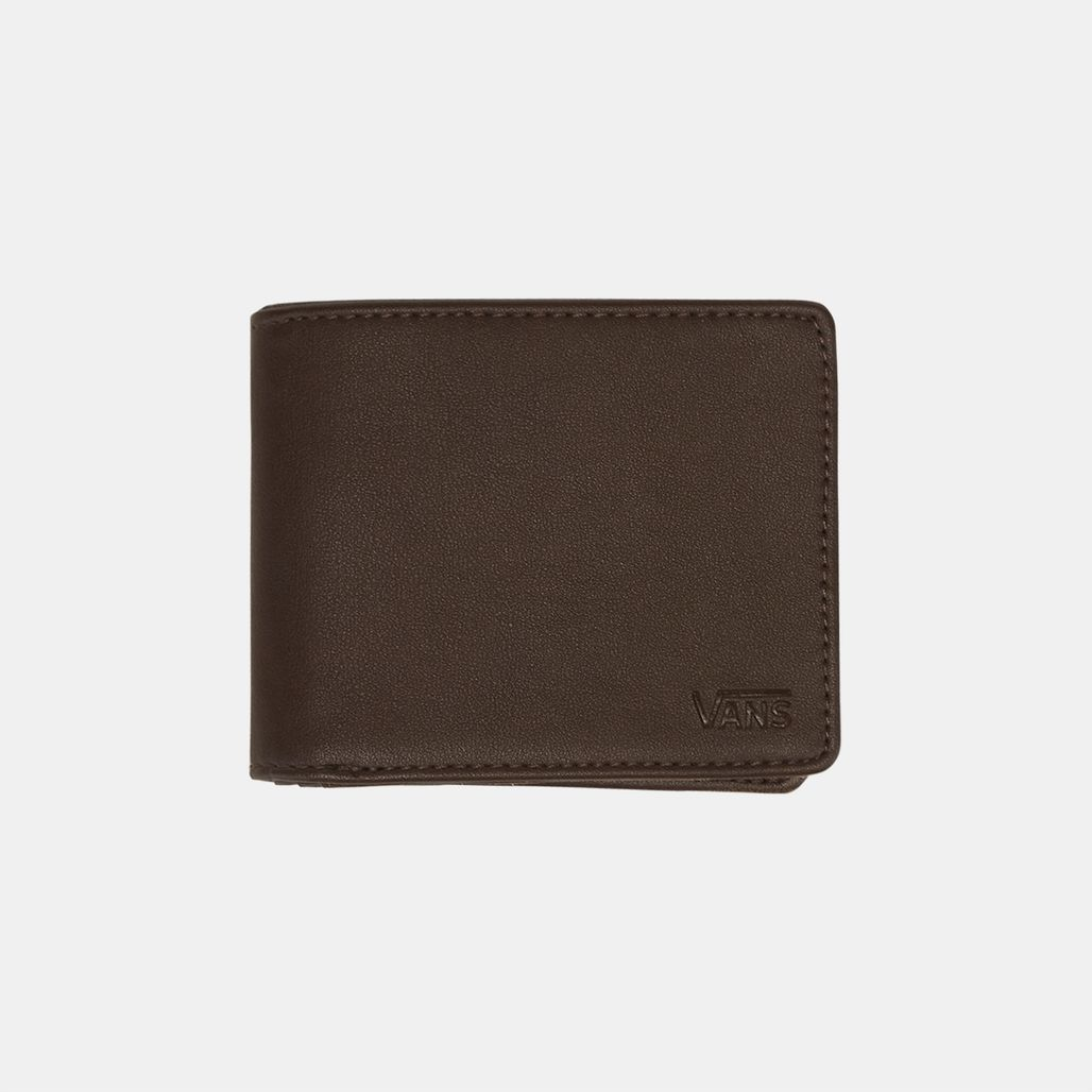 Vans Drop V Bifold Wallet - Brown