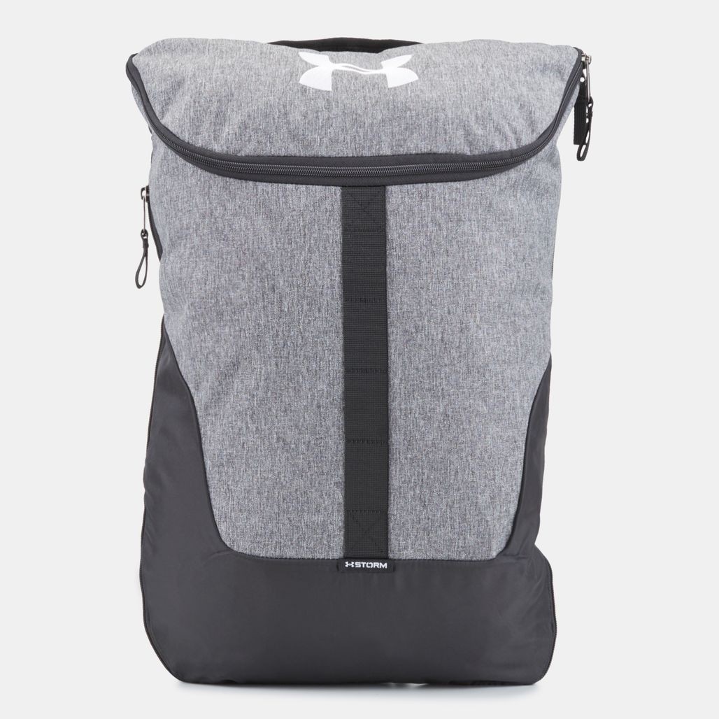 Under Armour Expandable Sackpack Bag - Grey