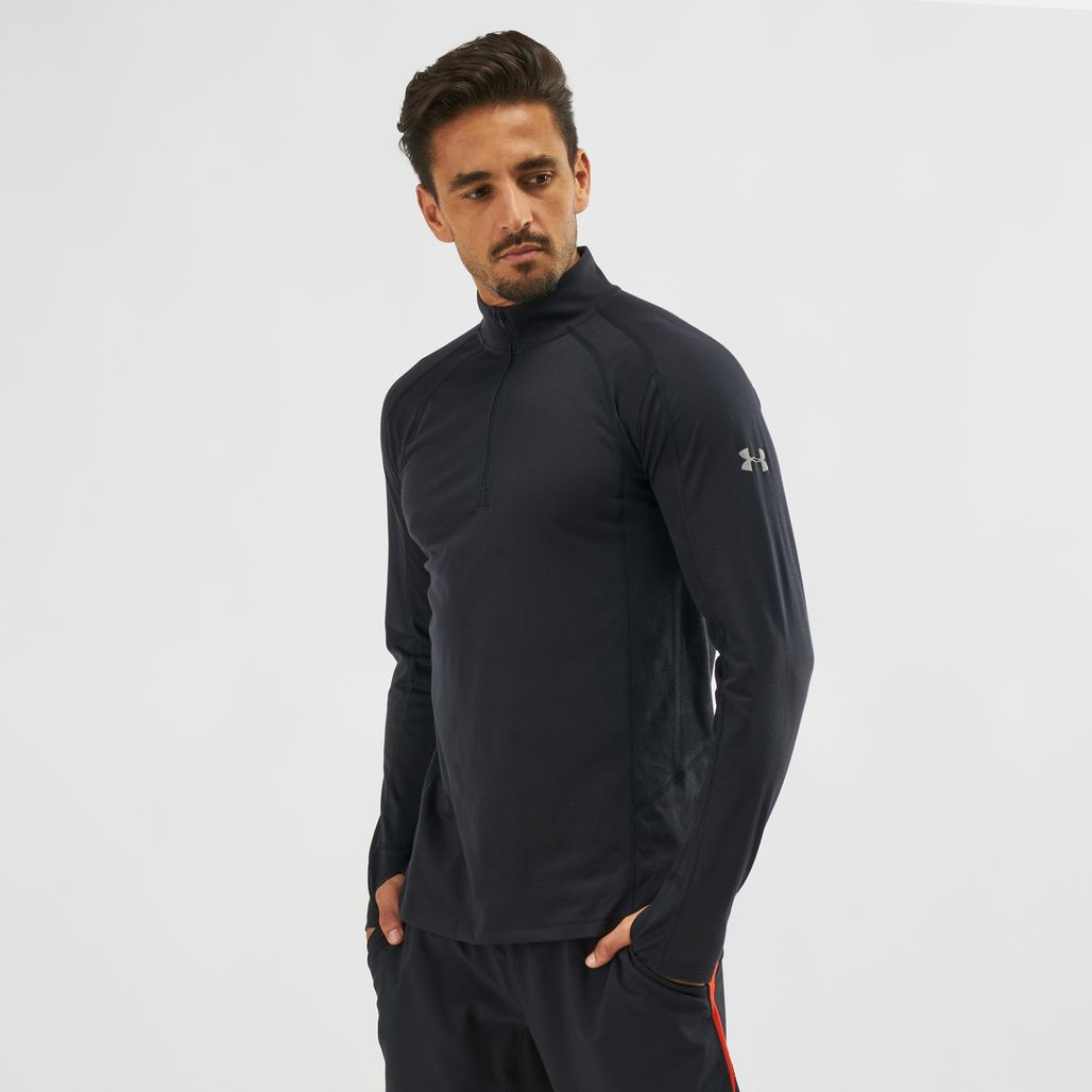 Under Armour Swyft 1/4 Zip Long Sleeve T-Shirt