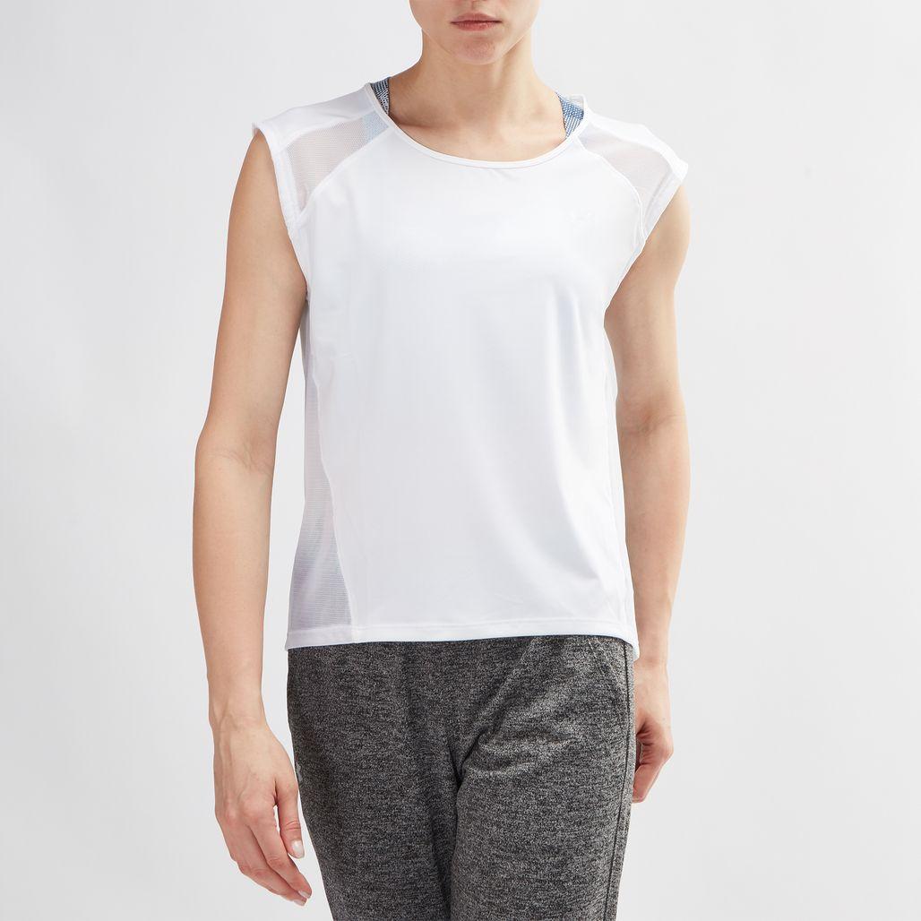 Under Armour Sport Cap Sleeve Training T-Shirt