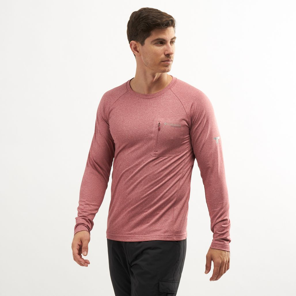 Columbia Men's Northern Ground Long Sleeve Knit T-Shirt