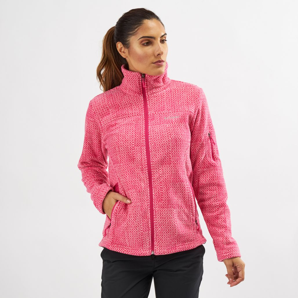 Columbia Fast Trek Printed Fleece Jacket
