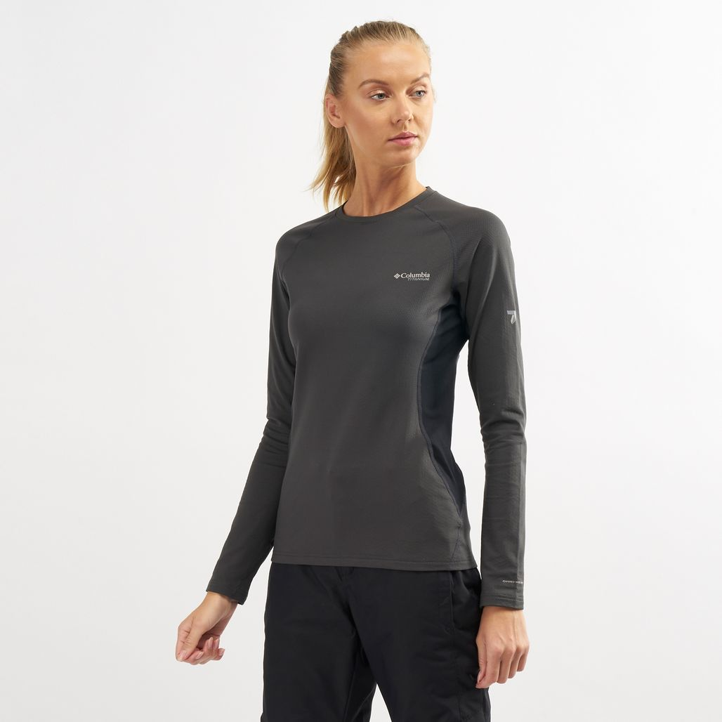 Columbia Women's Omni-Heat 3D Knit Crew Long Sleeve Top