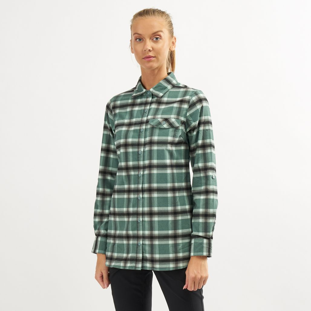 Columbia Women's Silver Ridge Flannel Long Sleeve Tunic