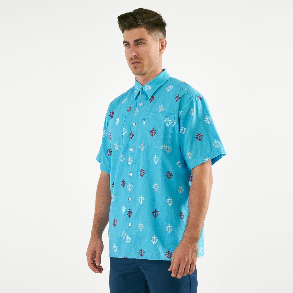 Columbia Men's PFG Harborside™ Linen Camp Short Sleeved Shirt