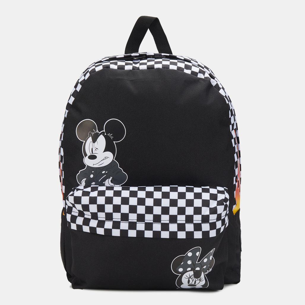 حقيبة الظهر فانس × ديزني ميكي ماوس ريلم من فانس - أسود