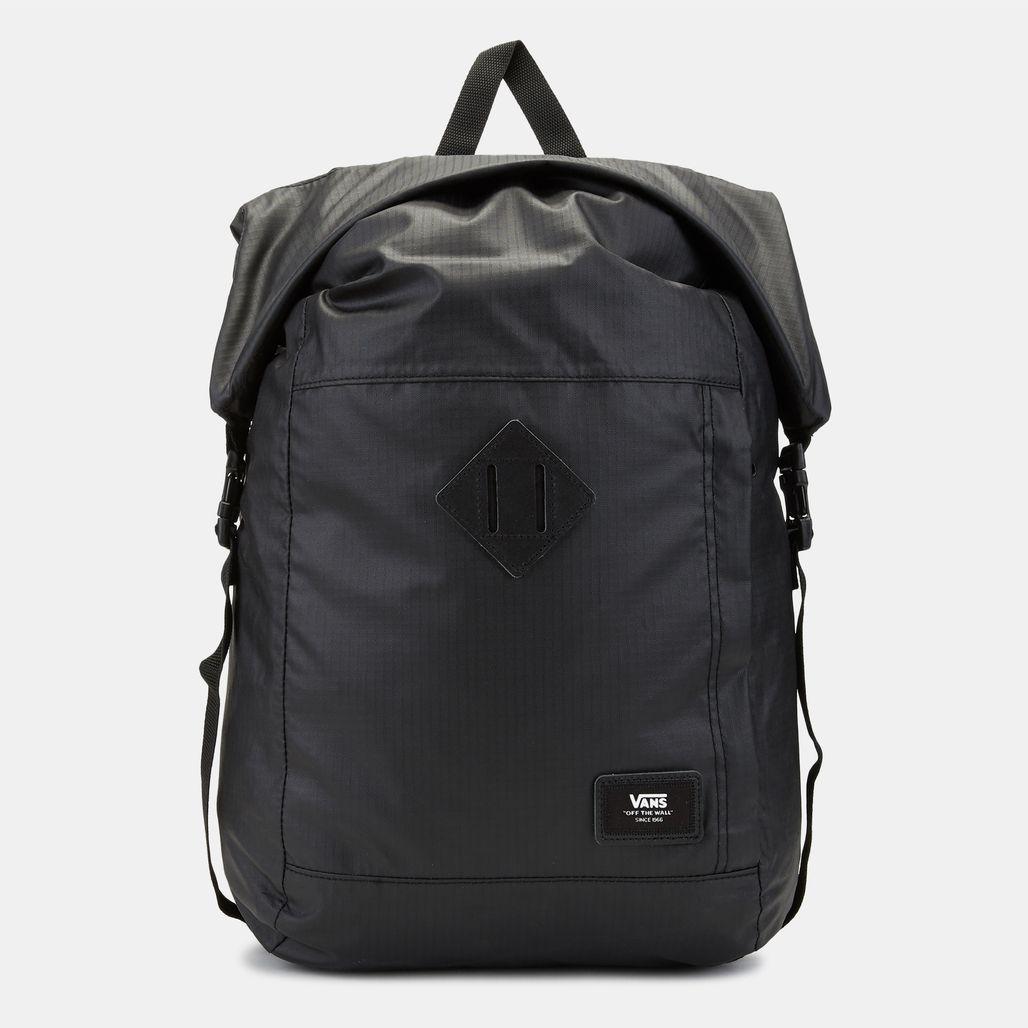 Van Fend Roll Top Backpack - Black