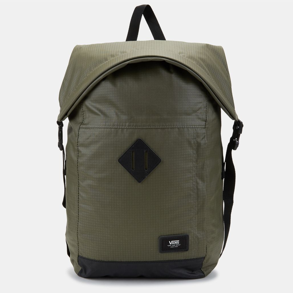 Vans Fend Roll Top Backpack - Green