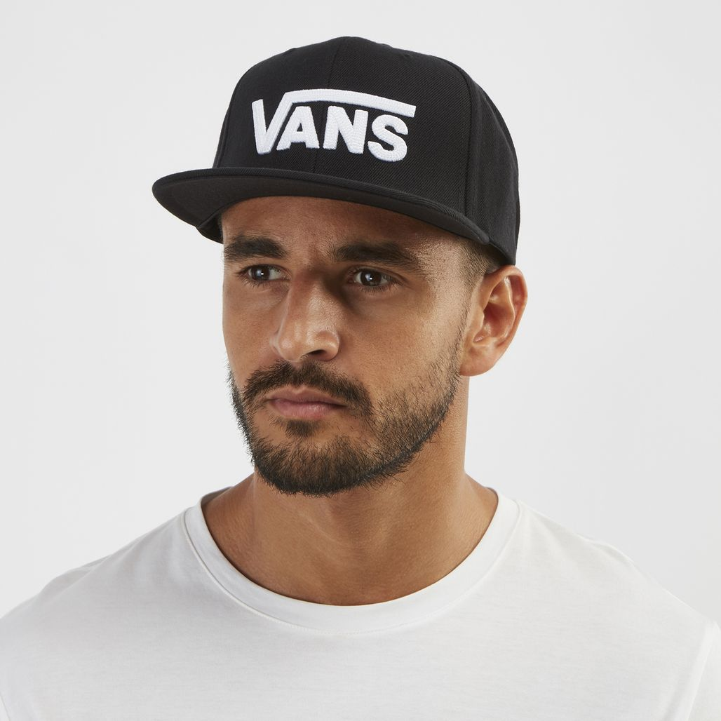 Vans Drop V Snapback Hat - Black