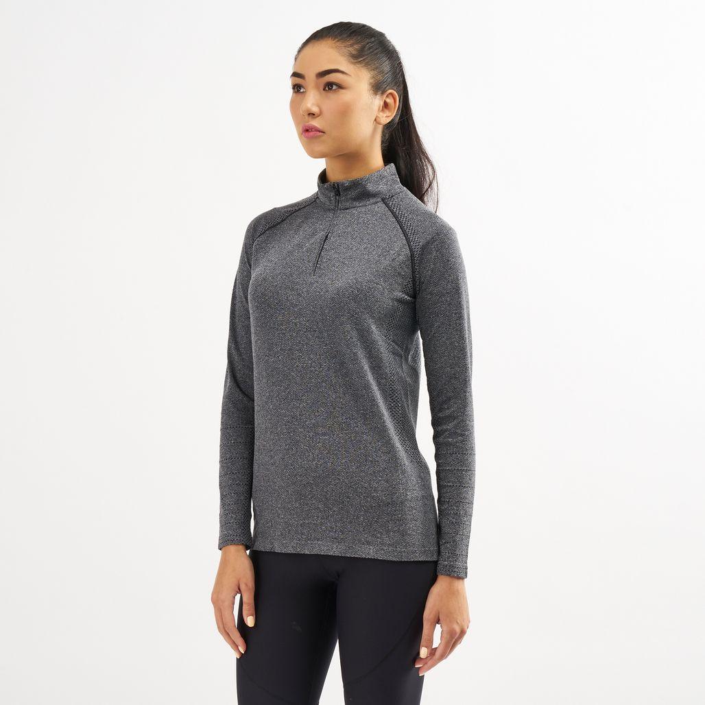 Under Armour Women's Vanish Seamless 1/4 Zip Long Sleeve Top