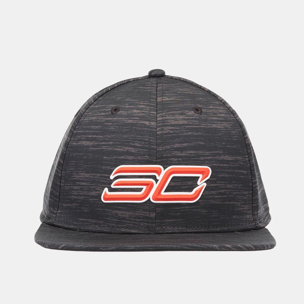 Under Armour SC30 Core Snapback Cap - Black