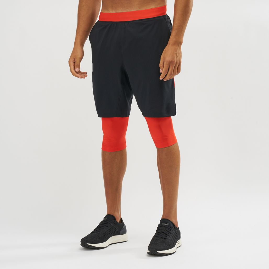 Under Armour Launch SW Long Shorts