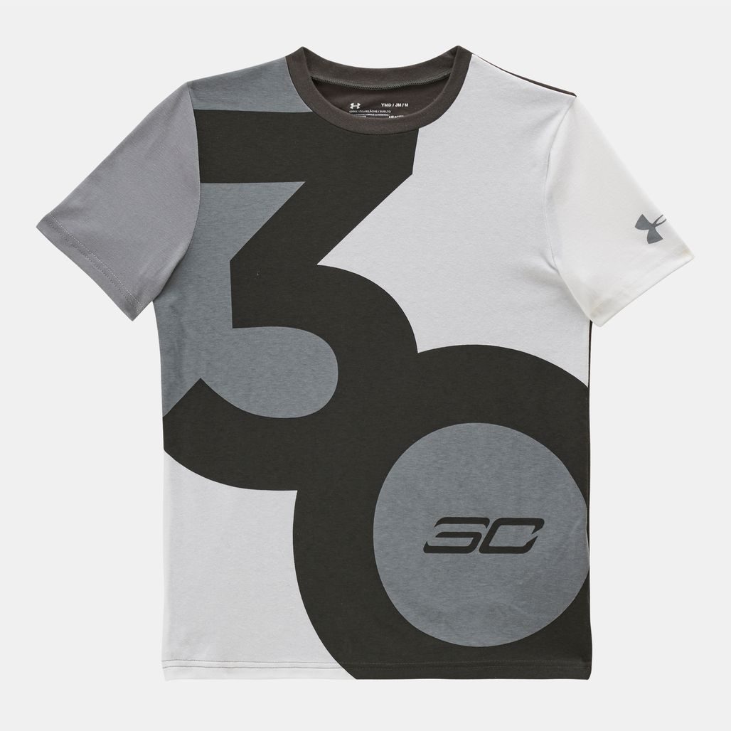 Under Armour Kids' SC30 Big 30 Logo T-Shirt