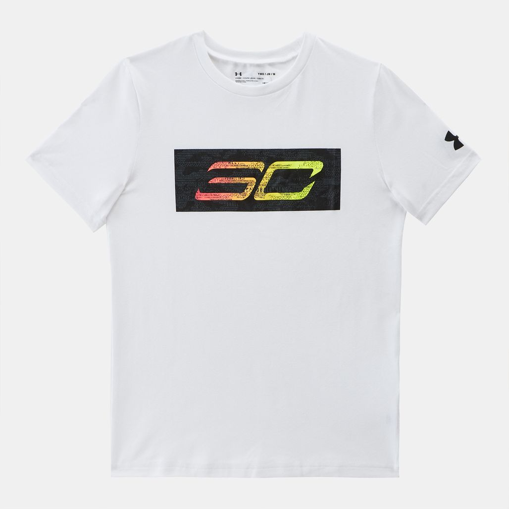 Under Armour Kids' SC30 Logo T-Shirt