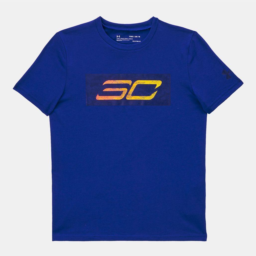 Under Armour Kids' SC30 Logo T-Shirt