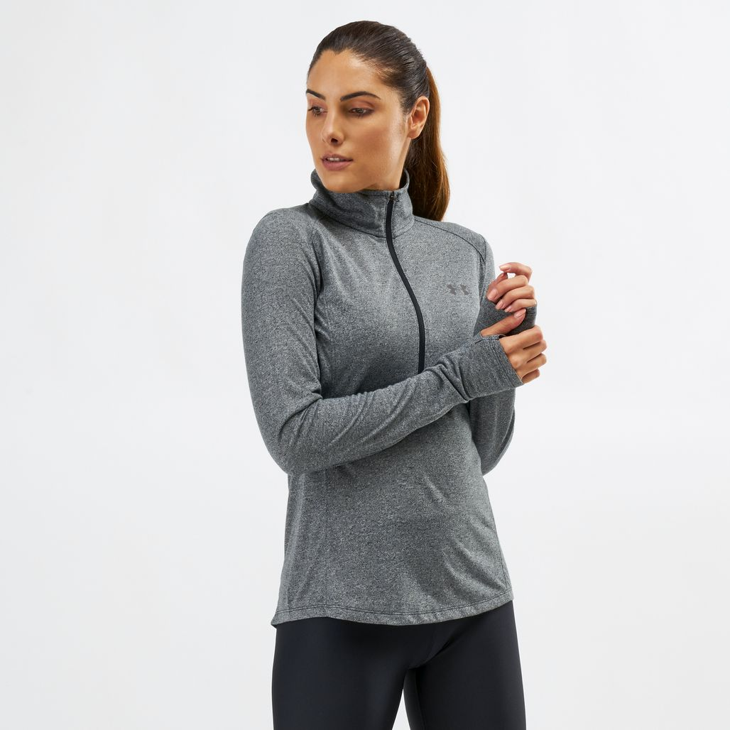 Under Armour Twist 1/2 Zip Long Sleeve T-Shirt