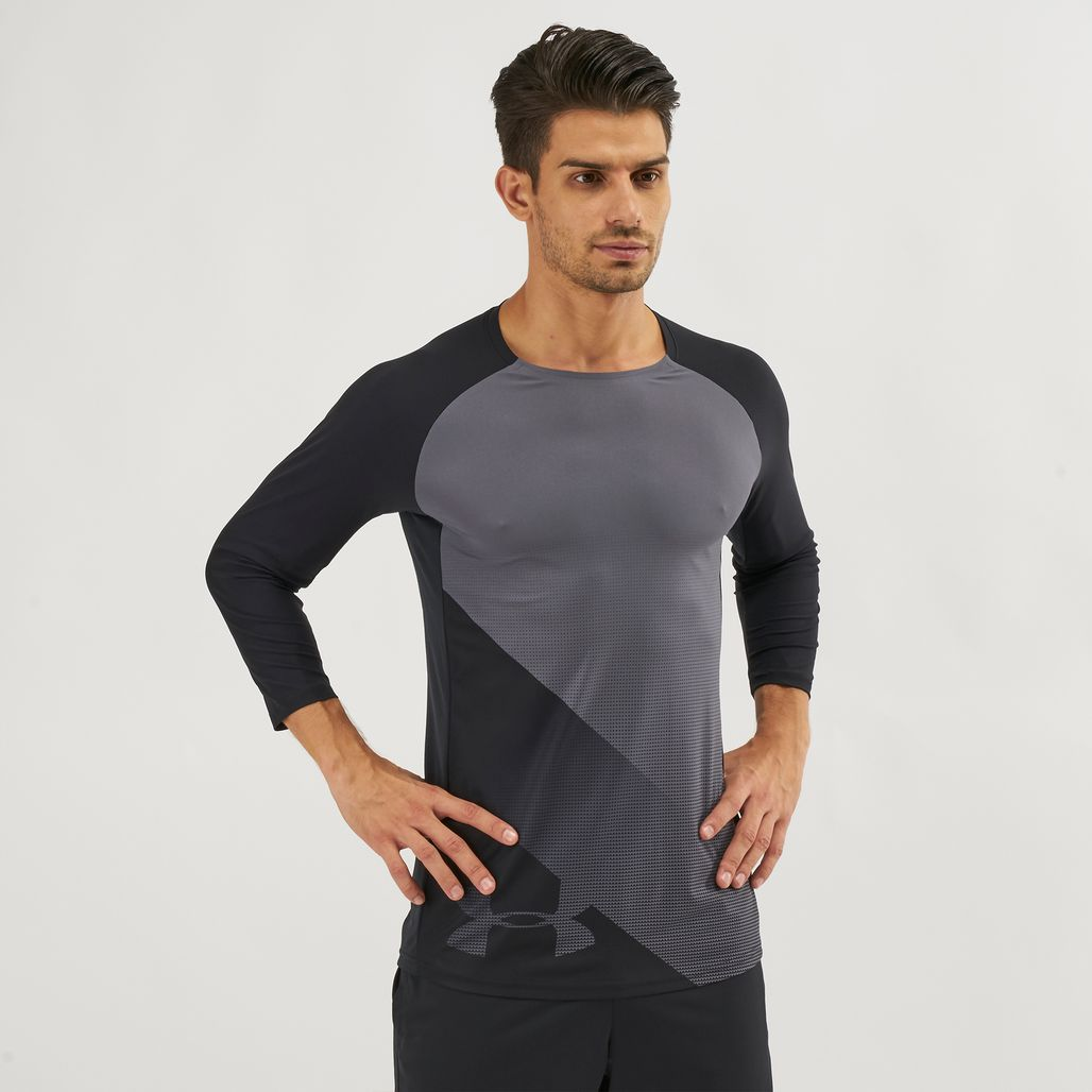 Under Armour Threadborne Vanish 3/4 Sleeve T-Shirt