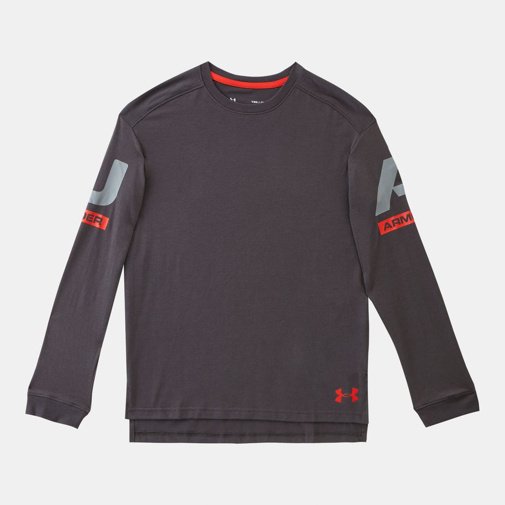 Under Armour Kids' Sportstyle Crew T-Shirt