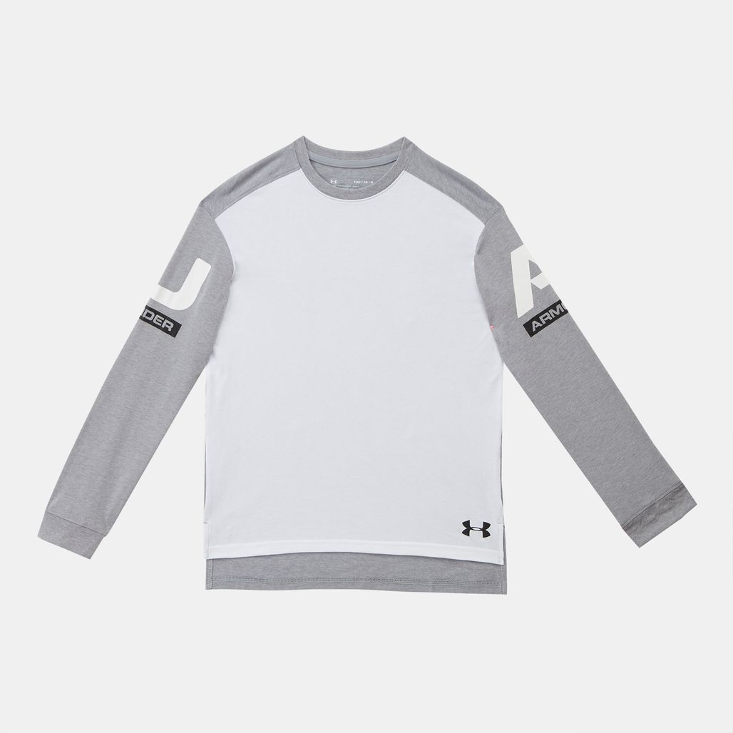 Under Armour Kids' Sportstyle Long Sleeve Sweatshirt