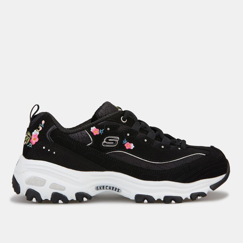 Skechers Women's D'Lites Bright Blossoms Shoe