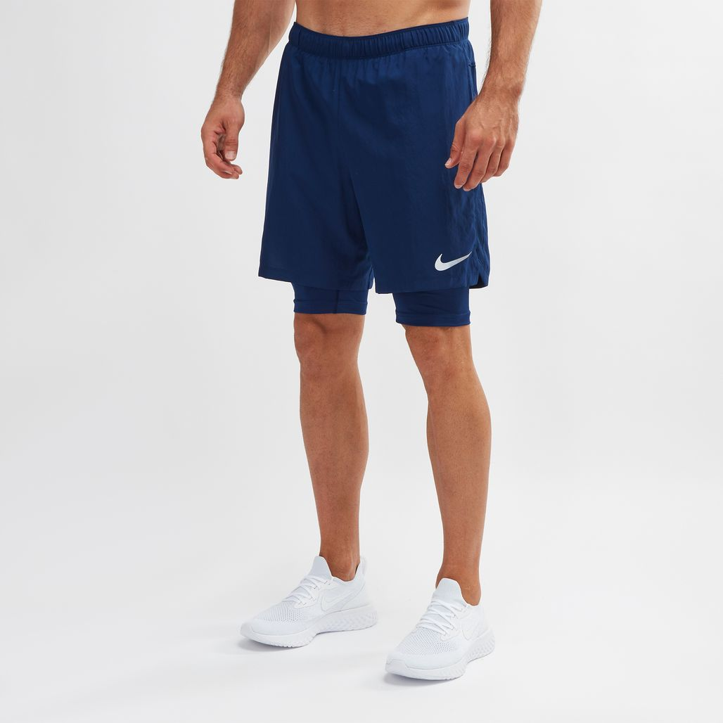 """Nike Challenger 7"""" 2-In-1 Shorts"""